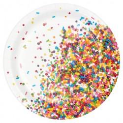 Sprinkles Dessert Plates
