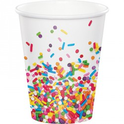 Sprinkles Party Paper Cups