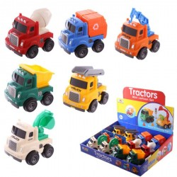 Pull back trucks - Birthday Party Favors