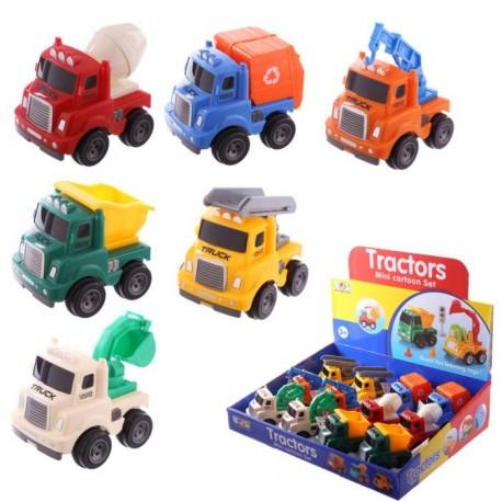 Pull back trucks - Birthday Party Favors