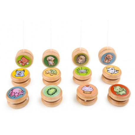 Wooden Assorted Yo-yo