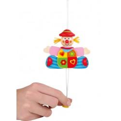 Burattino di Legno Clown 3 colori assortiti