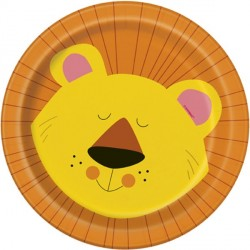 Jungle Party Lion Dessert Plates