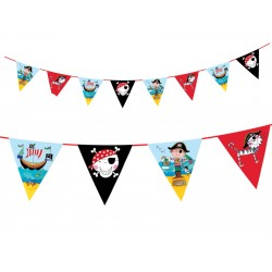 Birthday Pirate Flags Bunting