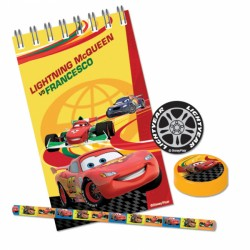 Cars Stationery Favour Pack 20pc