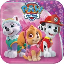 Piattini Paw Patrol Pink
