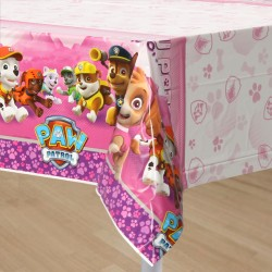 Paw Patrol Pink Tablecover