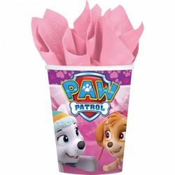 Bicchieri Paw Patrol Pink