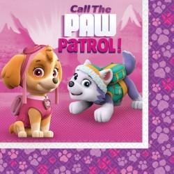 Tovaglioli Paw Patrol Pink