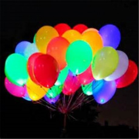 Palloncini luminosi a LED assortiti