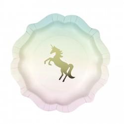 Piatti per festa tema Unicorno