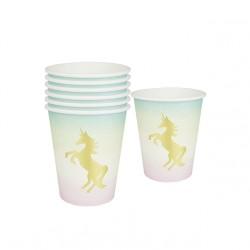 Bicchieri per festa tema Unicorno