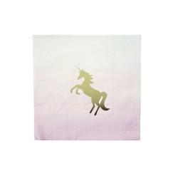 Tovagliolini Unicorno