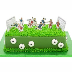 Soccer Cake Decorative Picks