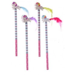 Pencil with rubber Unicorn