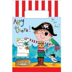 Birthday Pirate Party Bags