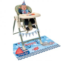 Nautical High Chair Kit