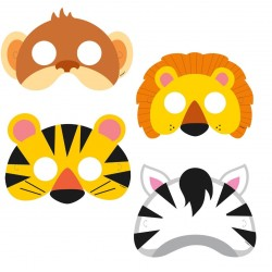 Jungle Animals Masks