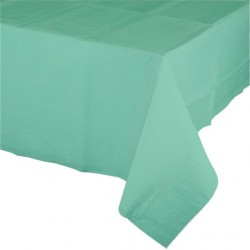 Mint Green Paper Tablecover