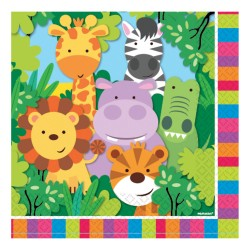 Jungle Friends Party Napkins
