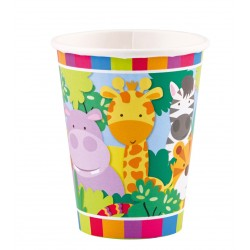 Jungle Friends Party Cups