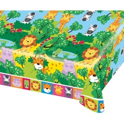 Jungle Friends Party Tablecover