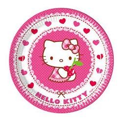 Piattini Hello Kitty Hearts
