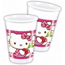 Bicchieri Hello Kitty Hearts