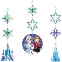 Frozen Snowflakes Hanging Cutouts