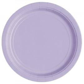 Lavender Paper Dinner Plates