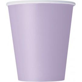 Bicchieri Carta Lilla 270ml 8pz