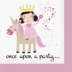 Princess and Unicorn Napkins