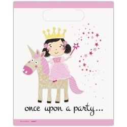 Borsine party Principessa e Unicorno