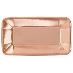 Rose Gold Foil Trays