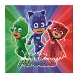 Tovaglioli Super Pigiamini - PJ Masks