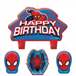 Set Candeline Spiderman