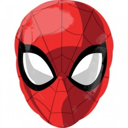 Spiderman Mask Foil Balloon