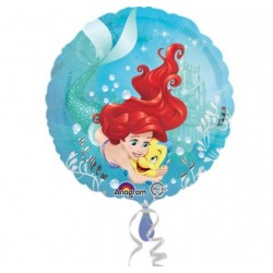 Ariel The Little Mermaid Foil Balloon