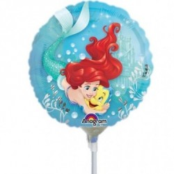 Ariel The Little Mermaid Mini Foil Balloon