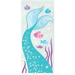 Mermaid Party Cellophane Bags