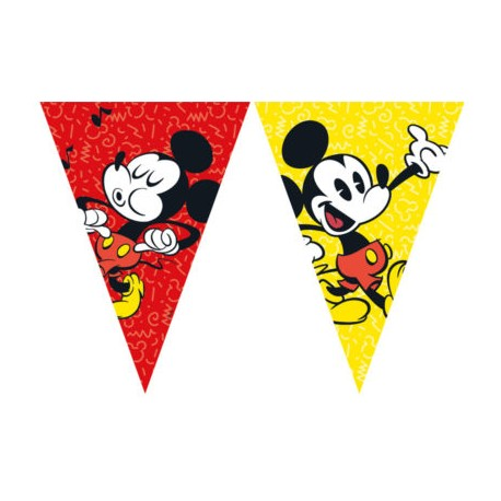 Mickey Super Cool Flags Banner