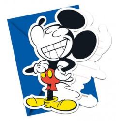 Mickey Super Cool Invitations