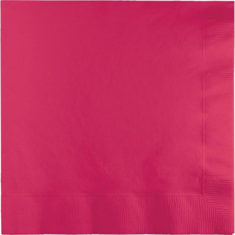 Bright Pink Lunch Napkins