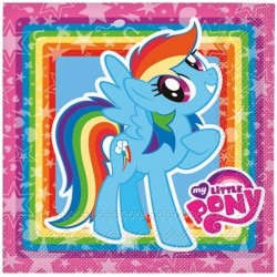 Tovaglioli festa My Little Pony