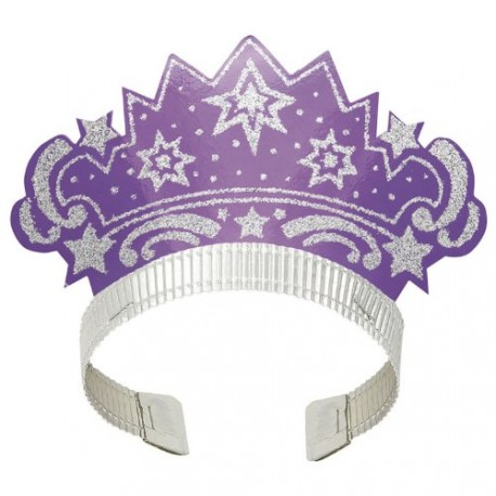Assorted Princess Tiaras Set 6pz