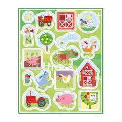 Barnyard Farm Stickers Sheets