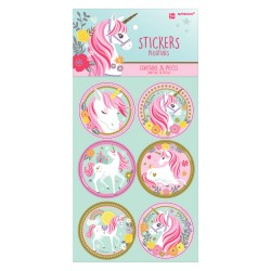 Set Stickers Magical Unicorn