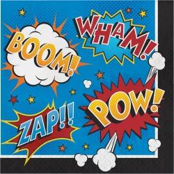 Superhero Slogans Napkins
