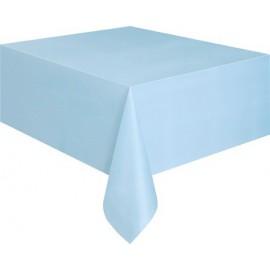 Tovaglia Plastica Azzurro 137x274cm