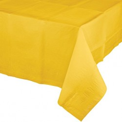 Yellow Paper Tablecover